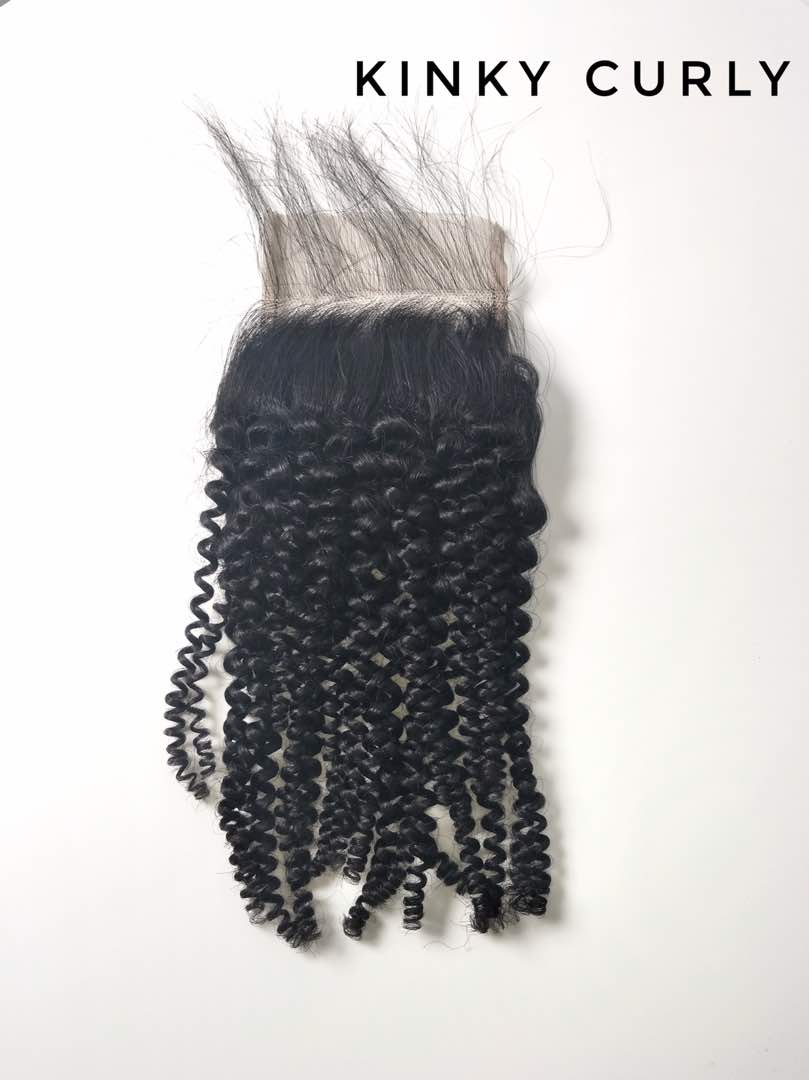 Kinky Curly Closure (Virgin)